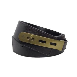 Cinto-Gucci-Leather-Brown