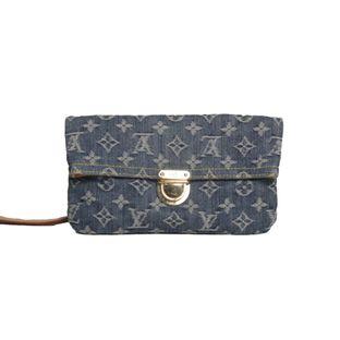 Clutch-Louis-Vuitton-Denim-Pochette