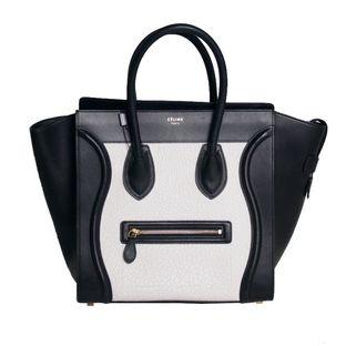 Bolsa-Celine-Luggage-Bicolor