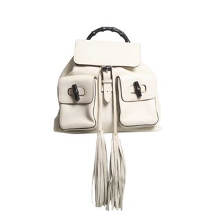 Mochila-Gucci-Bamboo-Off-White