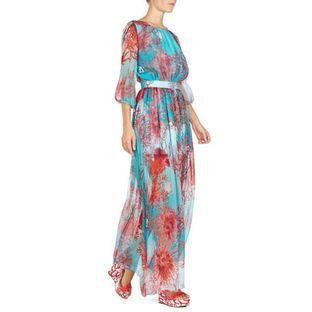 Vestido-Blugirl-Estampa-Coral-Blumarine
