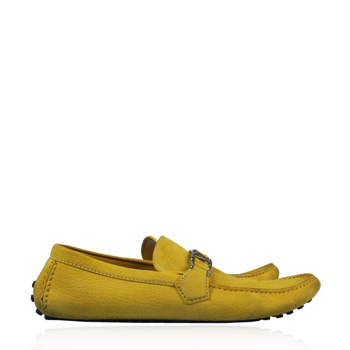 f10347b8e2 Louis Vuitton Mocassim Louis Vuitton Camurça Amarelo
