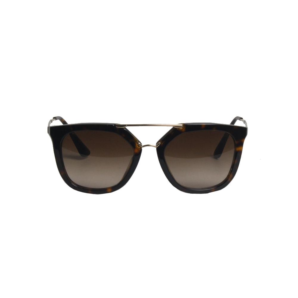 Óculos Prada Tartaruga com Dourado   Brechó de luxo - prettynew aa7f26344f