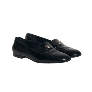 Loafer-Chanel-Patent-Verniz-Preto