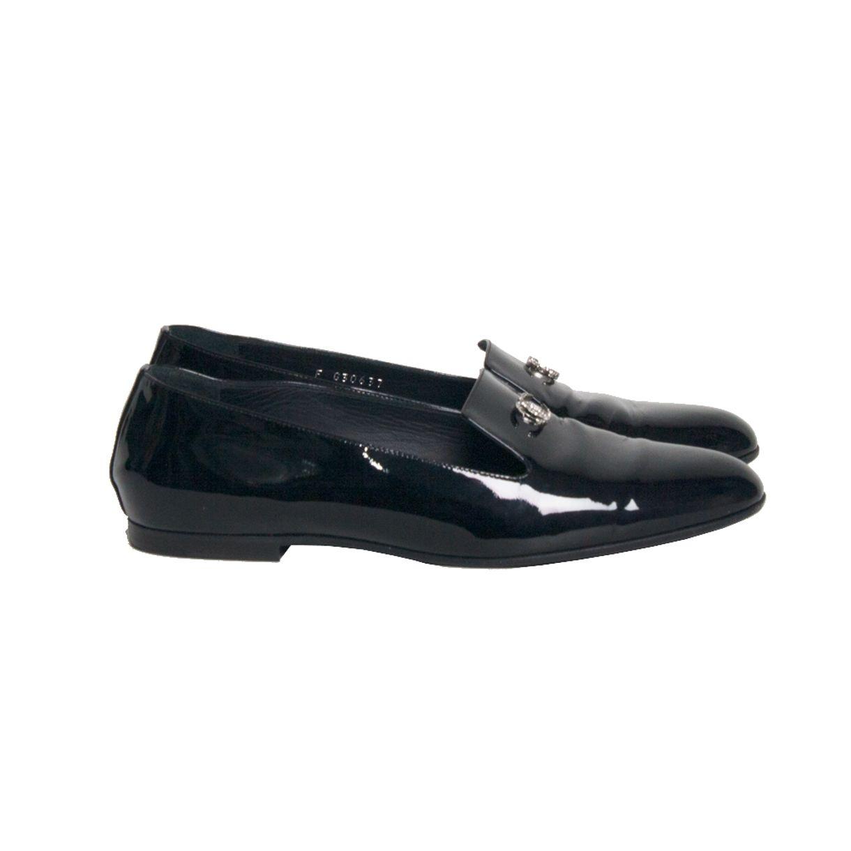 Loafer-Chanel-Patent-Verniz-Preto