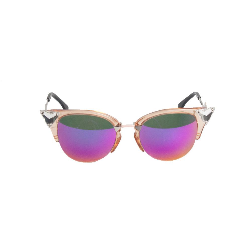 Óculos Fendi Iridia Espelhado Cat Eye   Brechó de luxo - prettynew 0a4bc12264