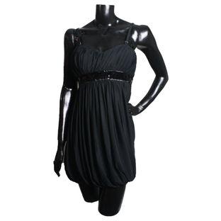 Vestido-Versace-preto-balone