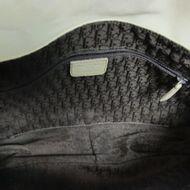 Bolsa-Christian-Dior-Gaucho-Leather-Satchel