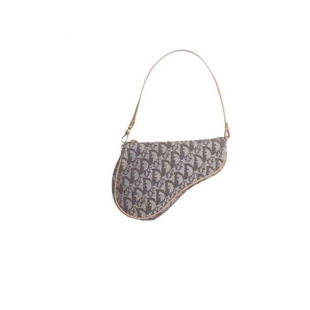 Bolsa-Dior-Mini-Saddle-Monograma-Denim
