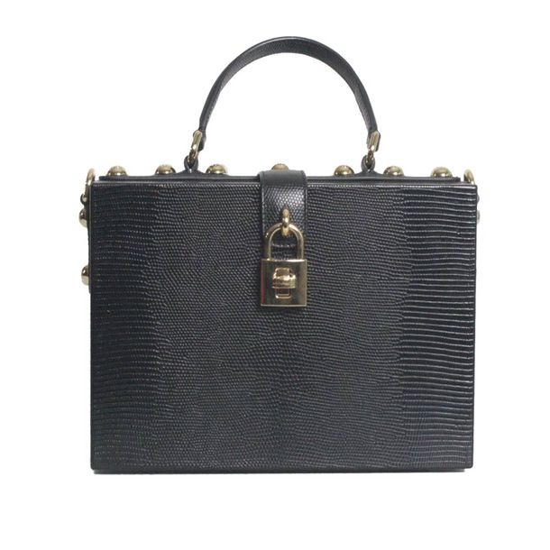 Bolsa-Dolce---Gabbana-Box-Iguana-Leather-Effect