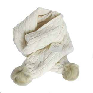 Cachecol-La-Baby---Child-Tricot-Off-White