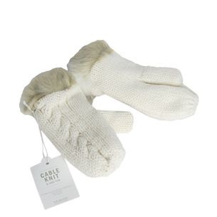 Luva-Baby---Child-Tricot-Off-White-com-Pelo