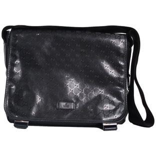 Bolsa-Gucci-Messenger-Diaper-Bag-Black