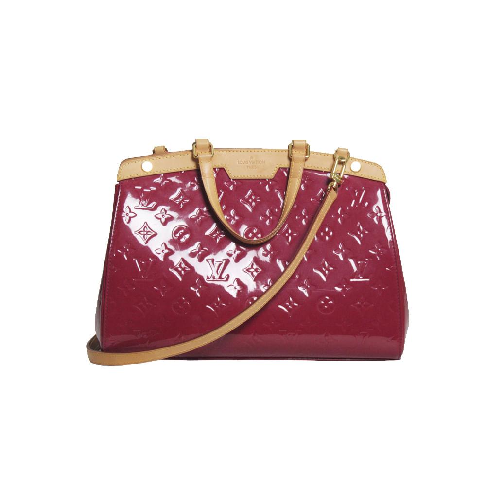 b241145850 Bolsa Louis Vuitton Verniz Brea GM