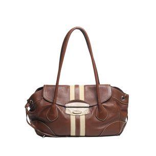 Bolsa-Prada-Leather-Marrom