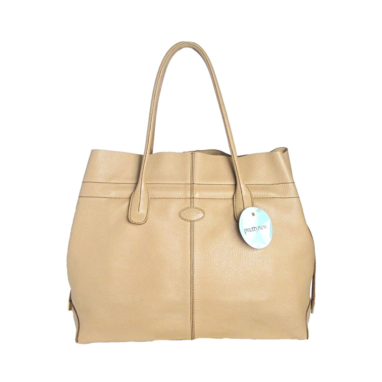 Bolsa-Tods-Couro-Bege