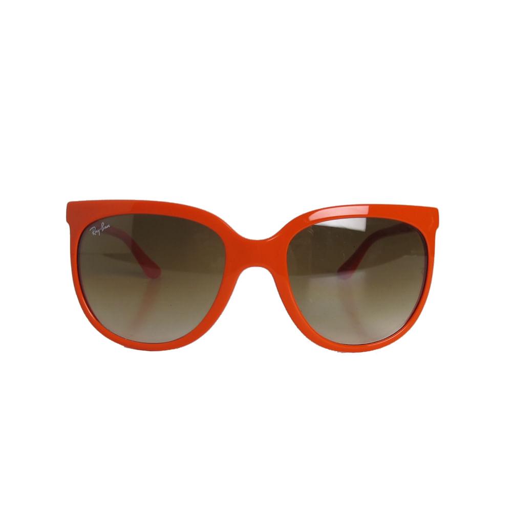 485a861417 Óculos Ray Ban Cats Laranja