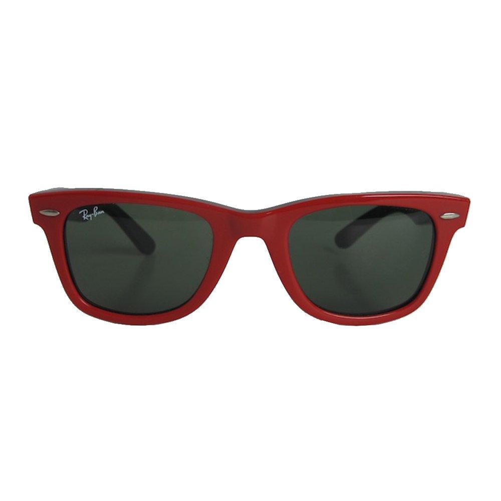 Óculos Ray Ban Wayfarer P Red   Brechó de luxo   Pretty New - prettynew f2bfbe39fb