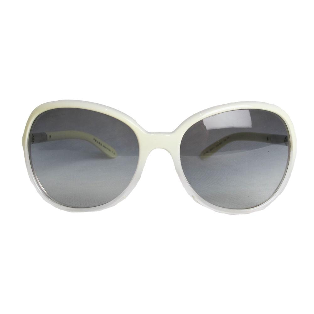 Óculos Prada Degrade White   Brechó de luxo   Pretty New - prettynew bb618e1ed7