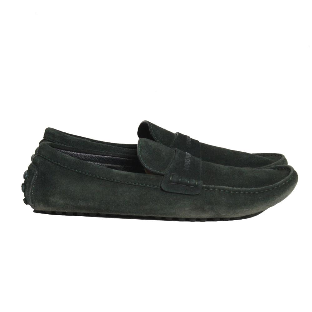 e1ae77bc4 Home/Masculino/sapatos e tênis. Mocassim Louis Vuitton Camurça Verde.  Previous