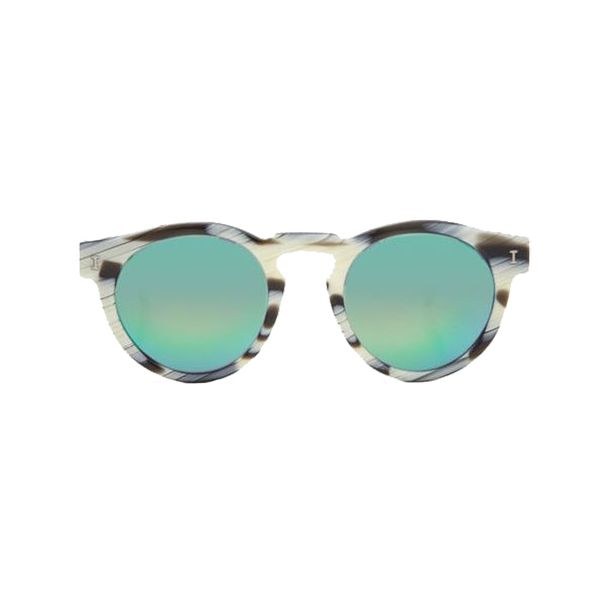 Oculos-Illesteva-Leonard-II-Green-Mirrored-Lenses