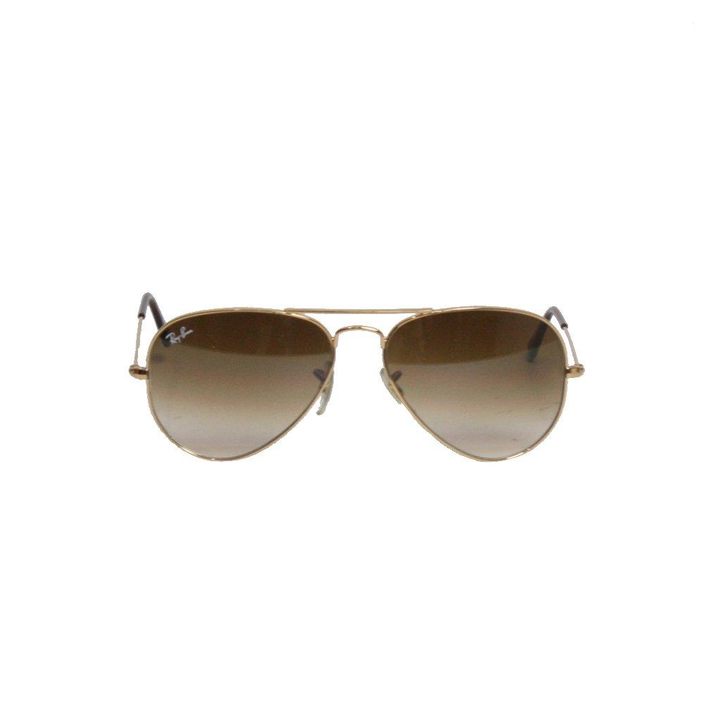 Óculos Ray Ban Aviador Dourado P   Brechó de luxo - prettynew 7f9478e0b7