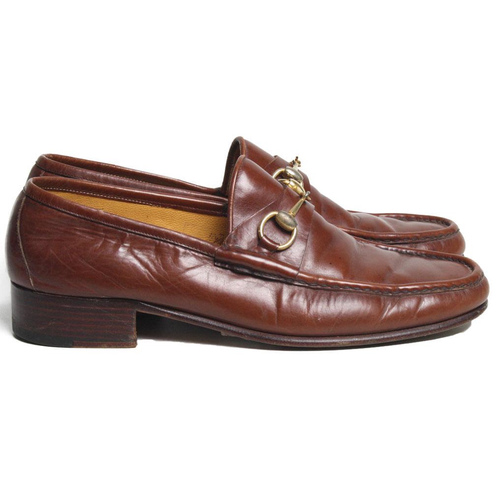 7887d3f665 Mocassim Gucci Horsebit Vintage