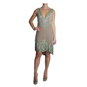 Vestido-Barbara-Bela-de-Seda-Bordado-Verde