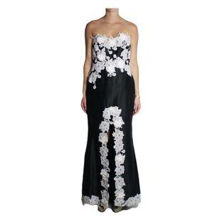 Vestido-Longo-Martha-Medeiros-Tomara-que-Caia-Renda-Preto-e-Branco