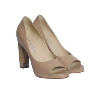 Peep-Toe-Chanel-Nude