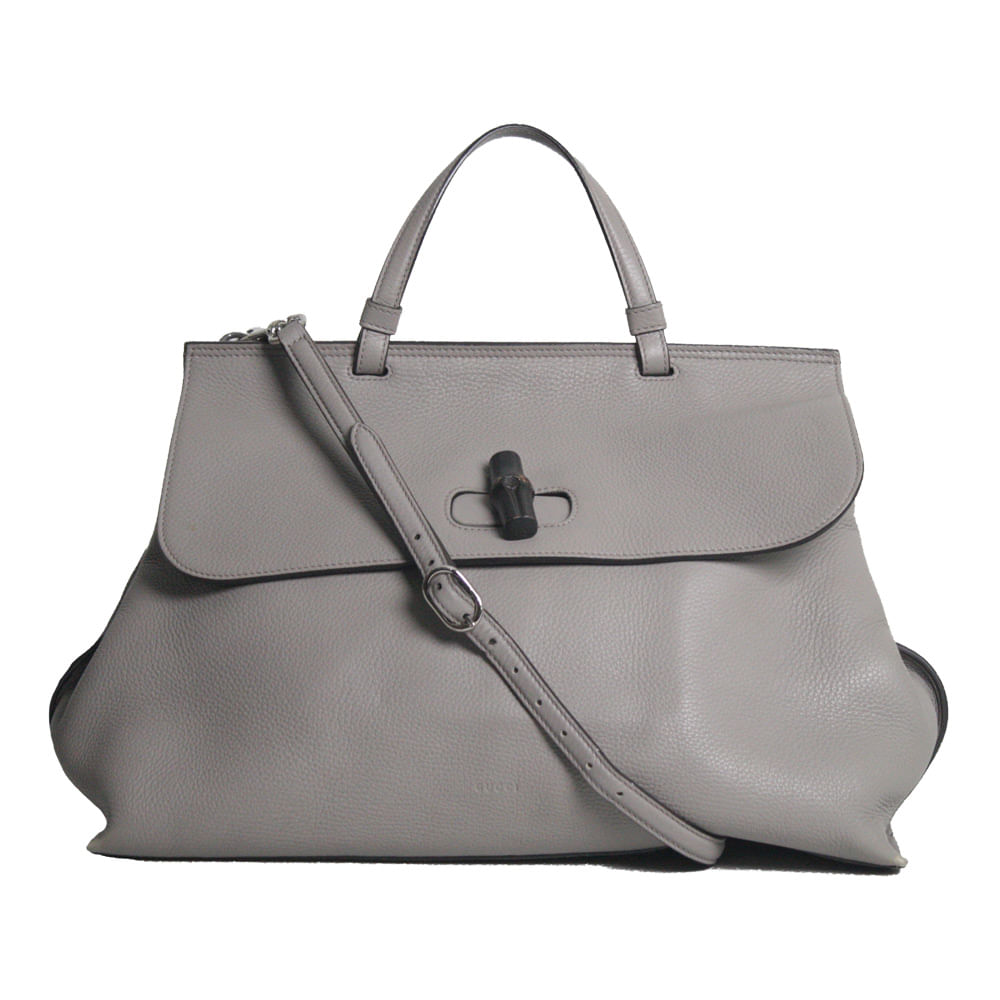 586931fda Bolsa Gucci Bamboo Daily Bag | Brechó de luxo | Pretty New - prettynew