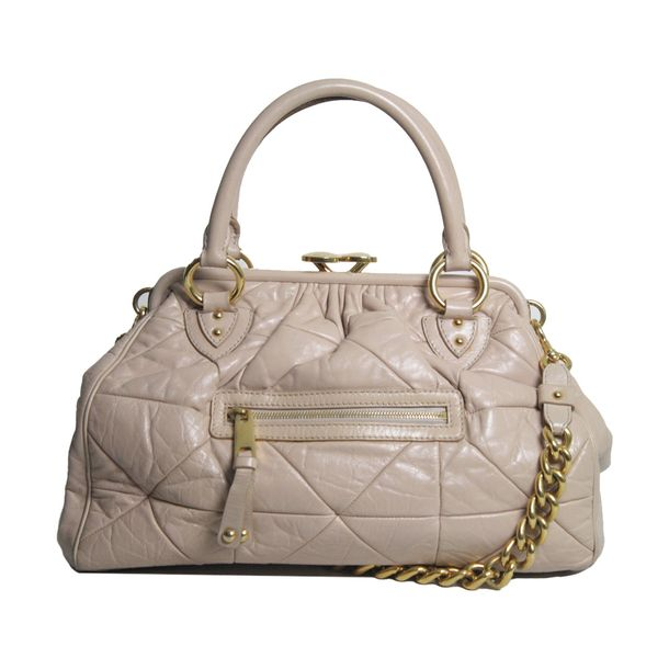 Bolsa-Marc-Jacobs-Quilted-Stam-Bag-Nude