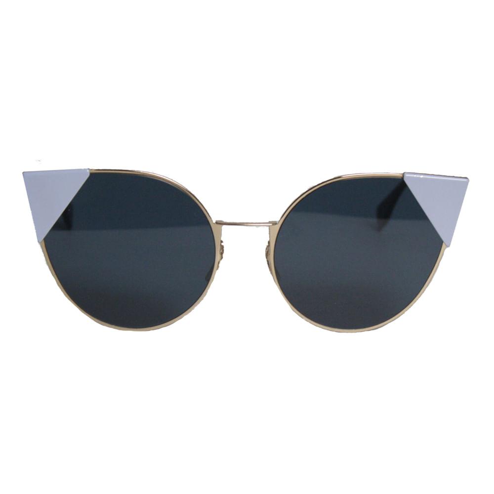 Oculos Fendi Gatinho Azul   Brechó de luxo   Pretty New - prettynew 9795ac690c