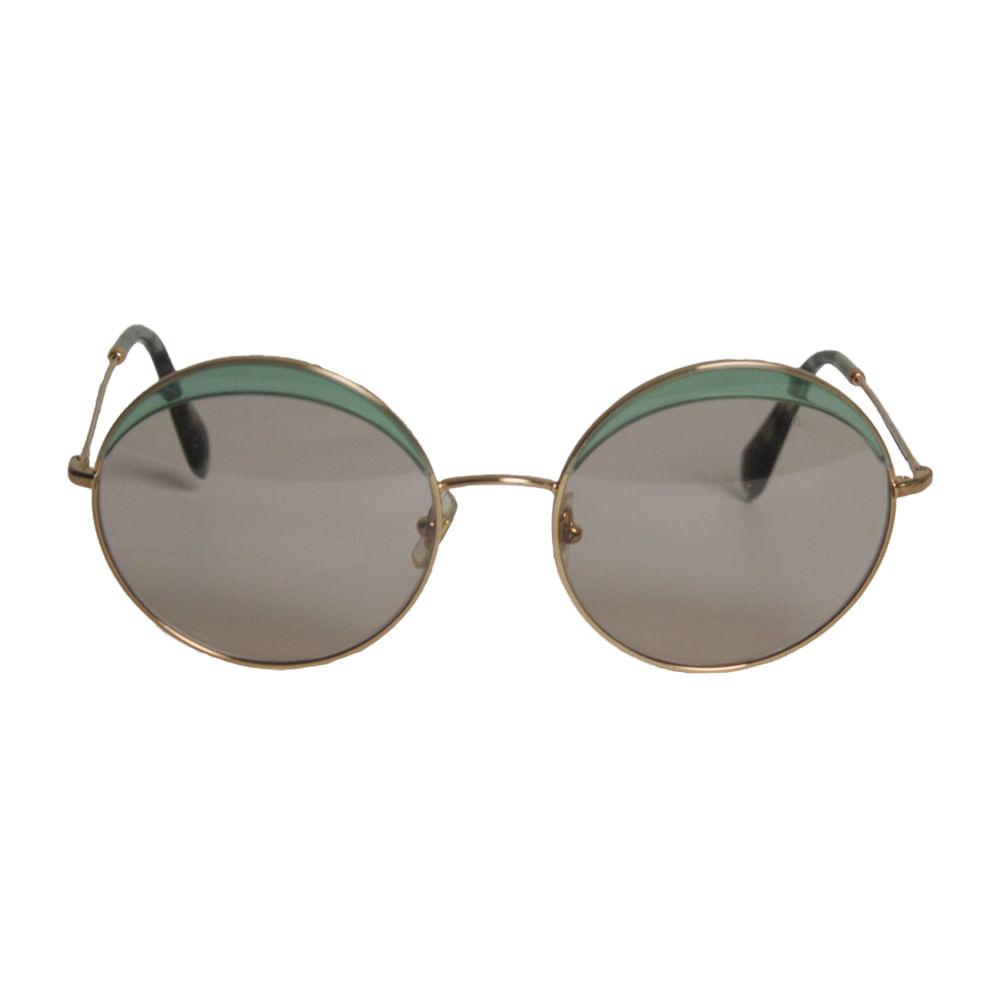 1661d06639832 Oculos Miu Miu Redondo SMU51Q   Brechó de luxo   Pretty New - prettynew