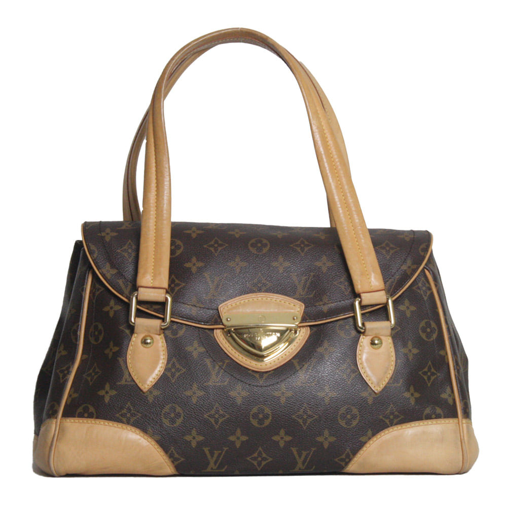 aea73f1fb65 Bolsa Louis Vuitton Monograma Beverly GM