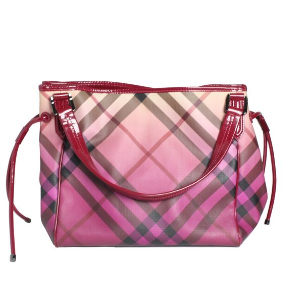 Bolsa-Burberry-Pink-Checked