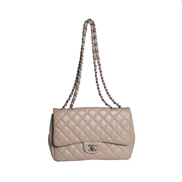 Bolsa-Chanel-Classic-Flap-Nude