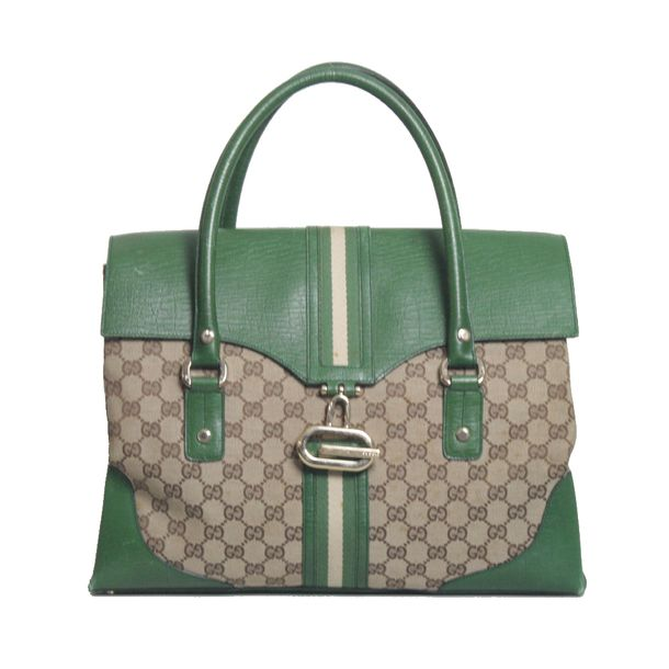 Bolsa-Gucci-Canvas-Verde