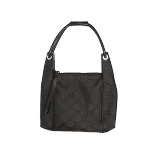 Bolsa-Gucci-Nylon-Brown-Canvas