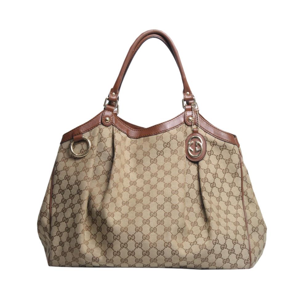 d9f3e966f Bolsa Gucci Sukey Monogram | Brechó de luxo | Pretty New - prettynew