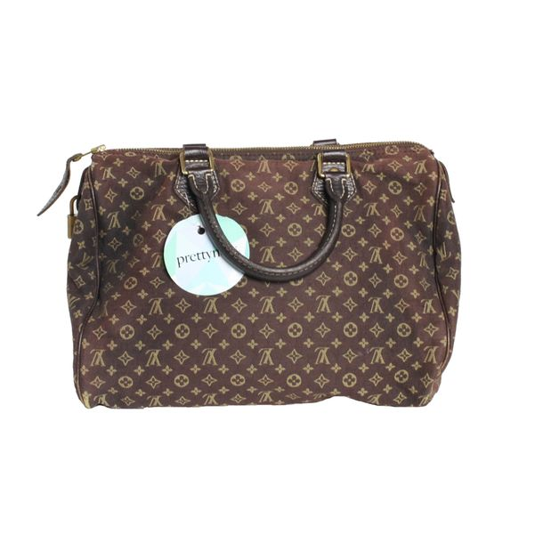 6c4daade8a Bolsa Louis Vuitton Mini Lin Speedy 30