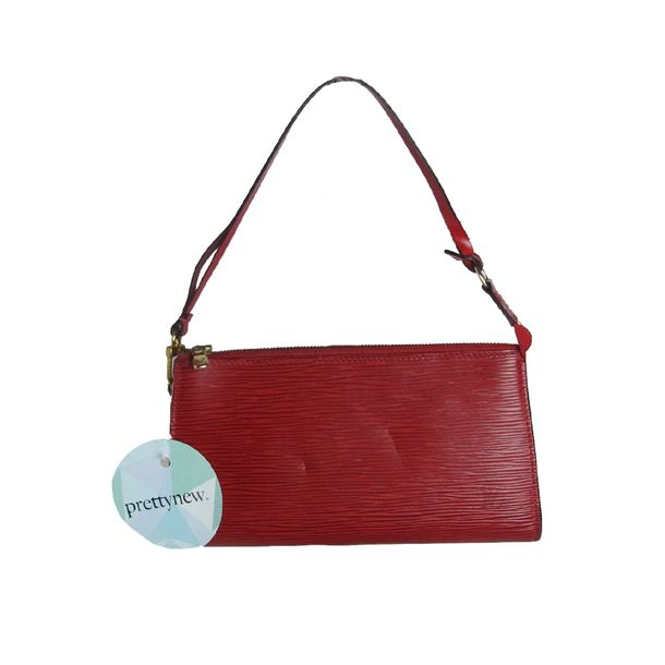 Bolsa-Louis-Vuitton-Pochette-Epi-Red