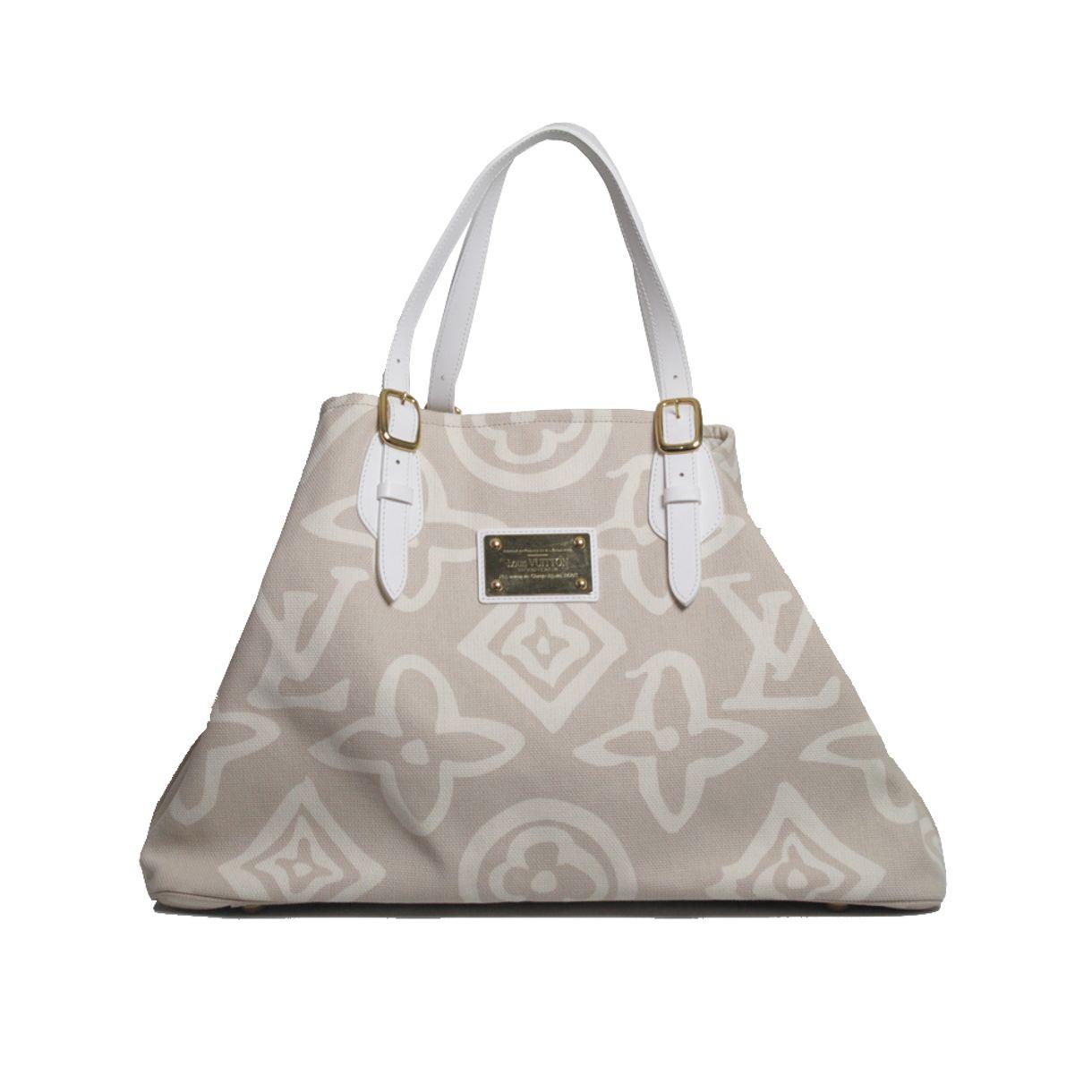 Bolsa-Louis-Vuitton-Tahitienne-Cabas-Off-White