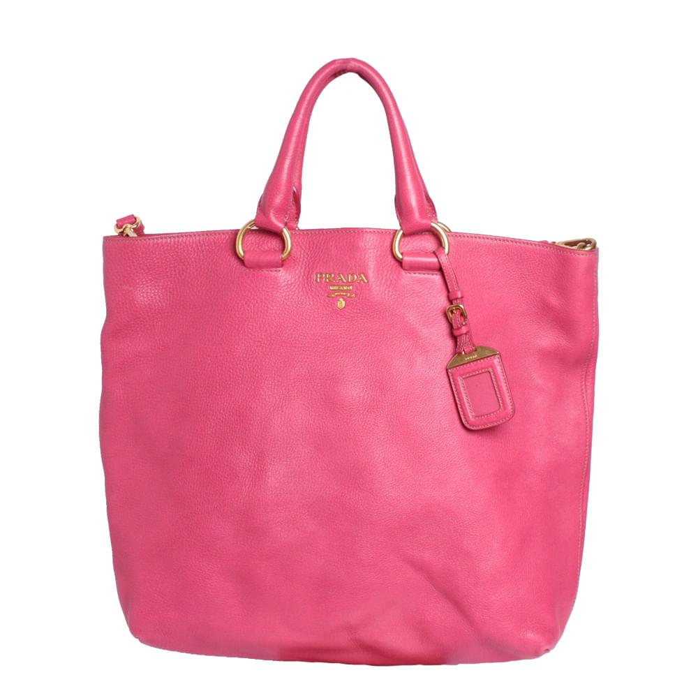 637dfffe9 Bolsa Prada Vitello Daino Shopping Tote   Brechó de luxo - prettynew