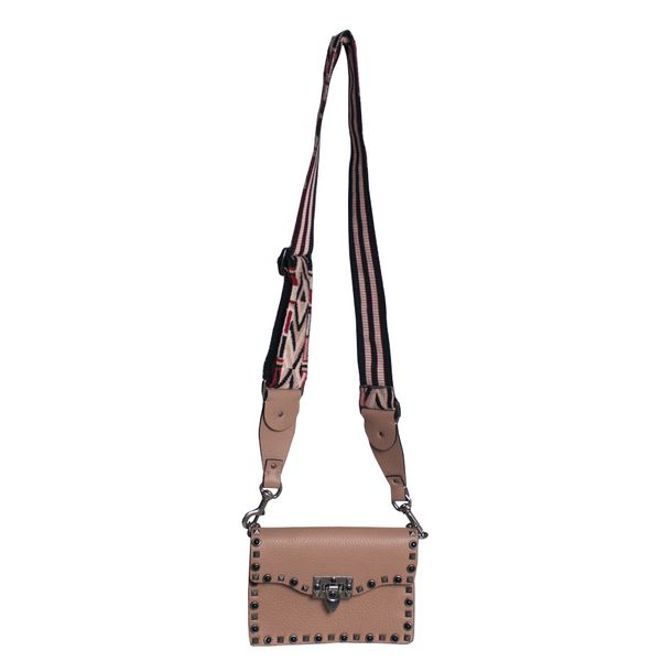 Bolsa-Valentino-Guitar-Rockstud-Rolling-Cross-Body-Small