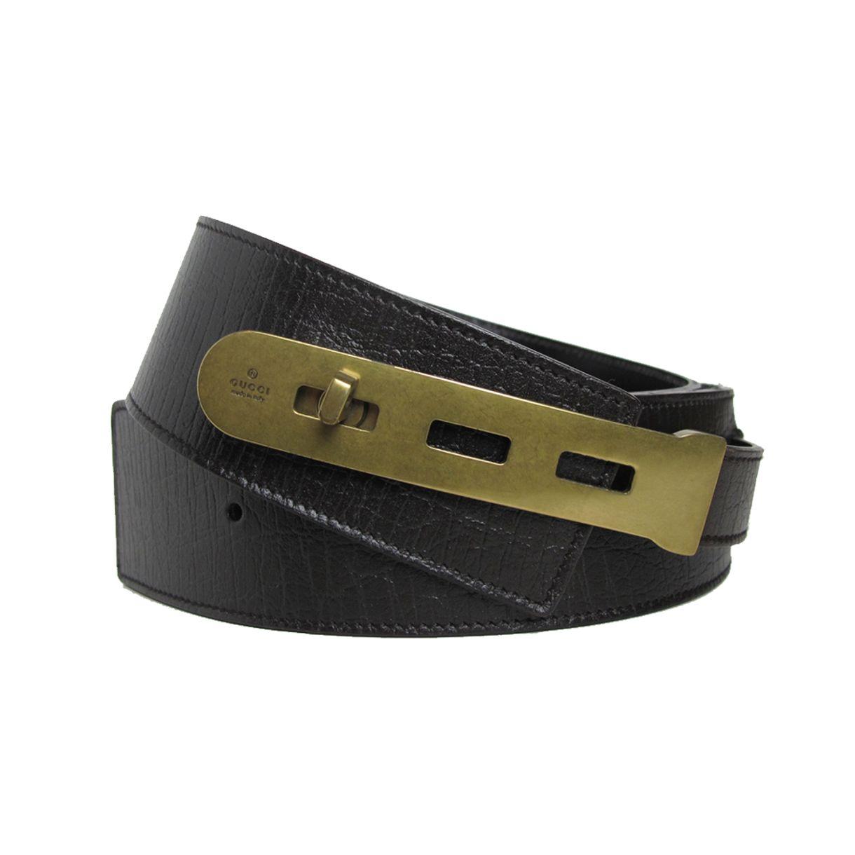 Cinto-Gucci-Leather-Black