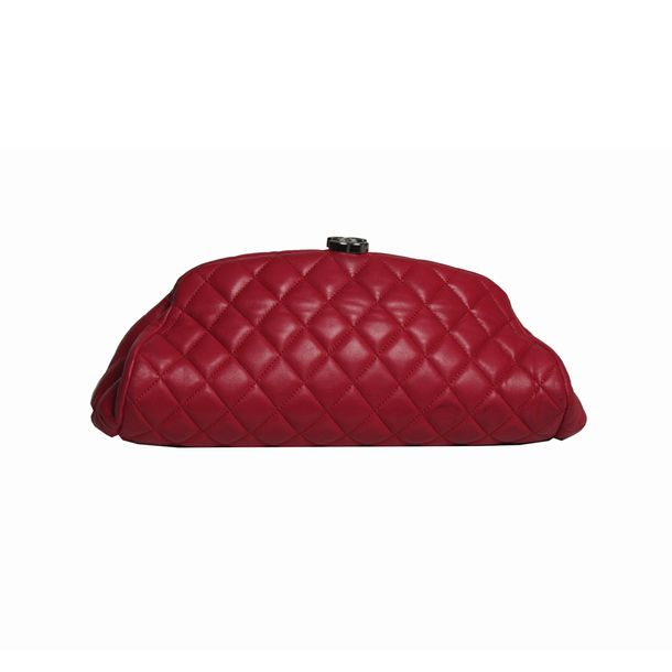 Clutch-Chanel-Timeless-Pink