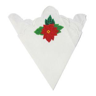Guardanapos-de-Linho-Branco-Flor-Avulso-6-pecas