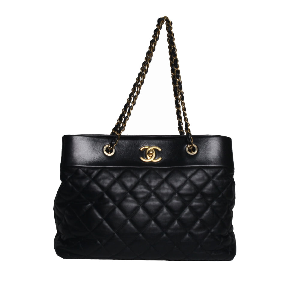 e5d3461c2 Bolsa Chanel Matelasse Black | Brechó de luxo | Pretty New - prettynew