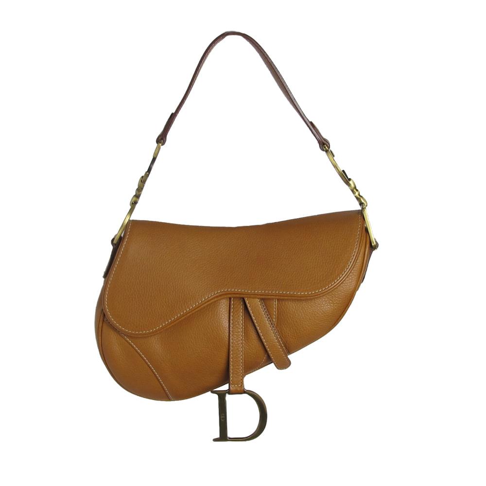 e74a0f1ce2c Bolsa Christian Dior Saddle Leather. Previous